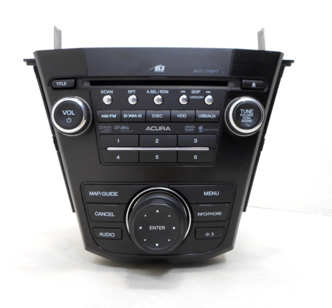 2012 Acura MDX AM FM XM Navigation CD DVD Player Radio