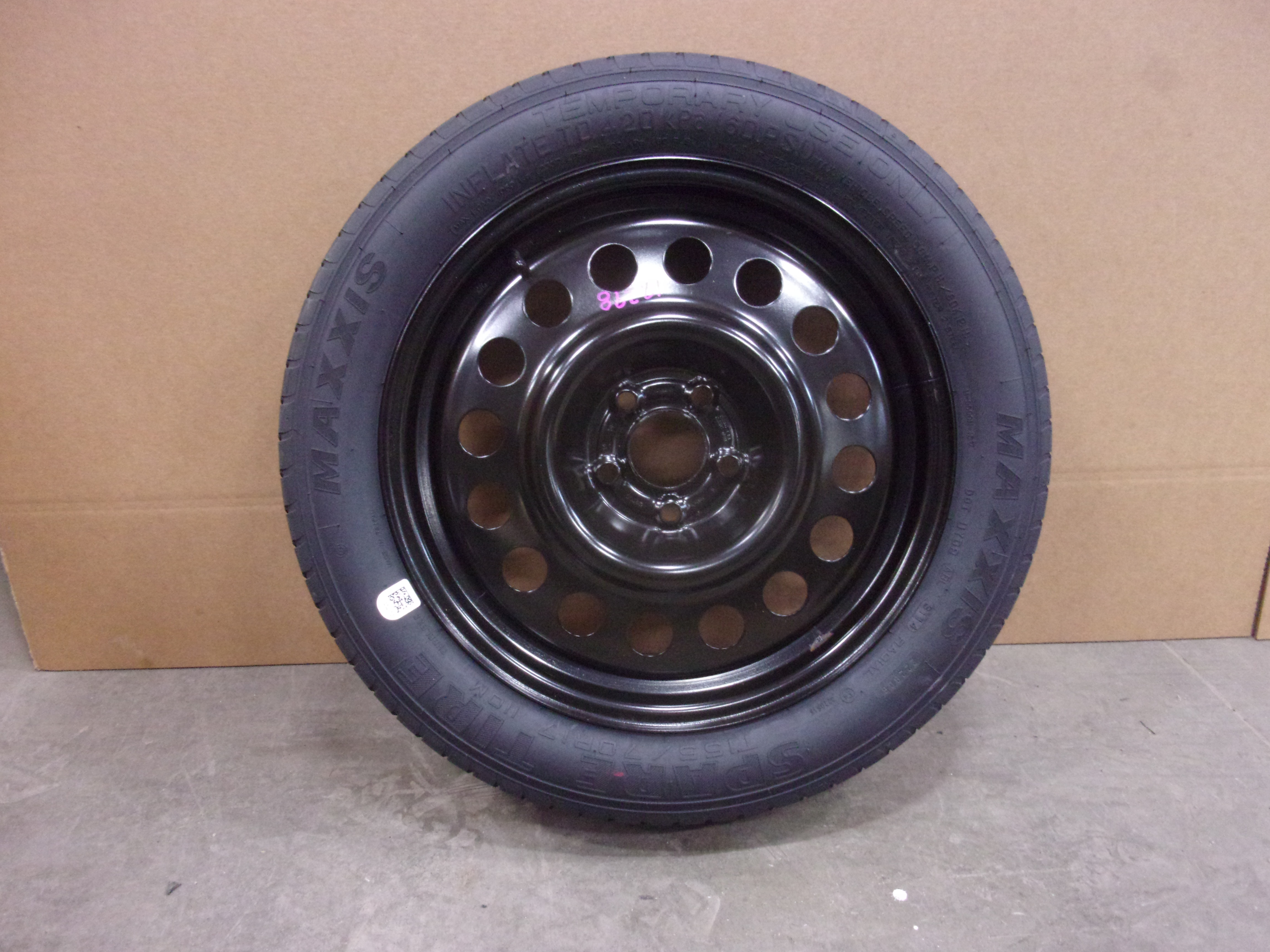 2010-2017-Chevrolet-Equinox-17x4-5-Steel-Wheel-T155-70R17-Compact-Spare-Tire-OEM