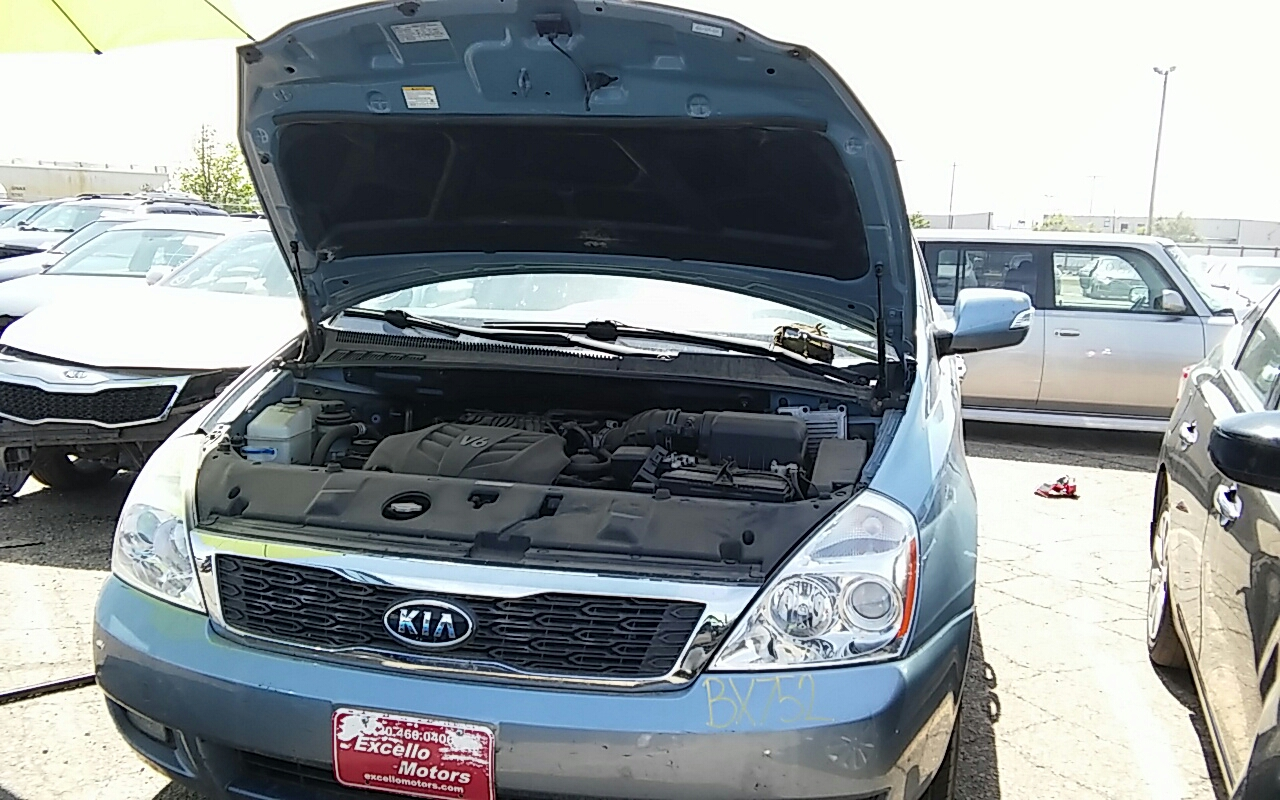 2012 Kia Sedona Used Steering Column 184607935 Dash Part