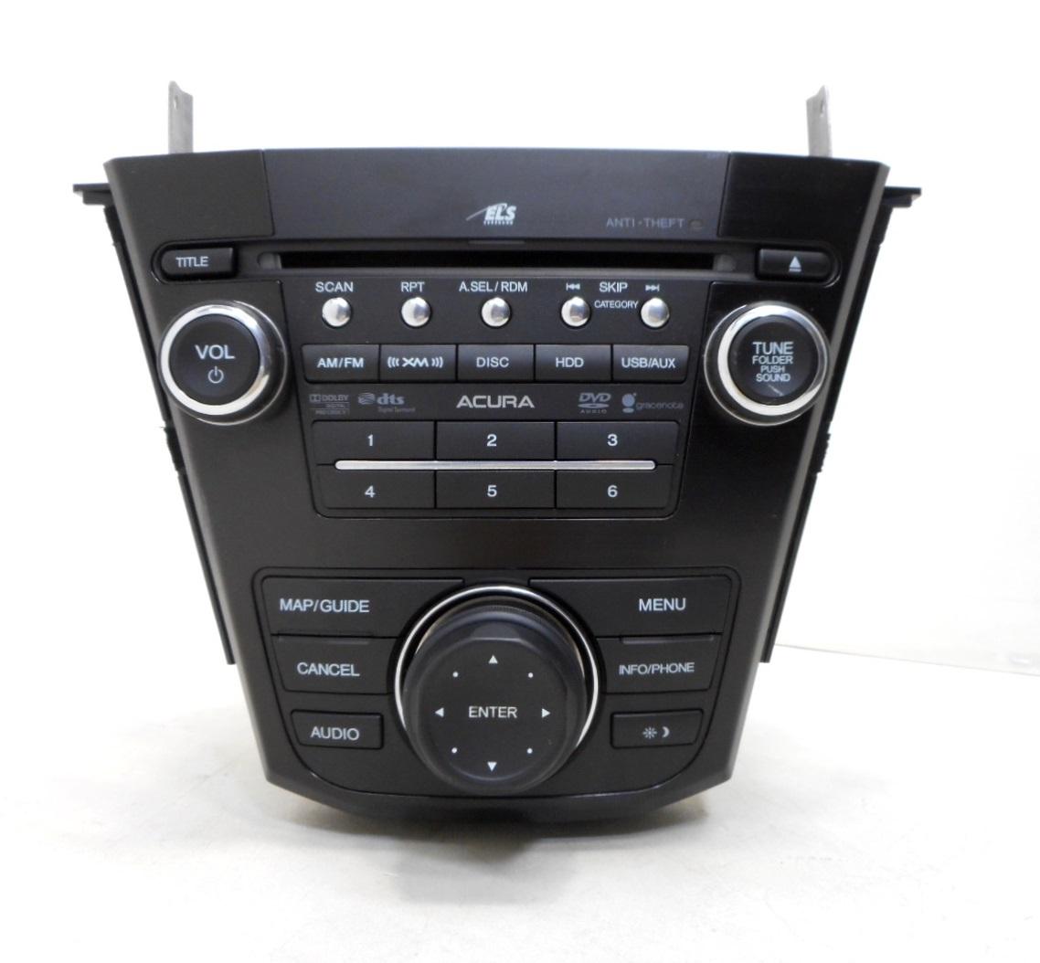 2012 Acura MDX AM FM XM Navigation CD DVD Player Radio